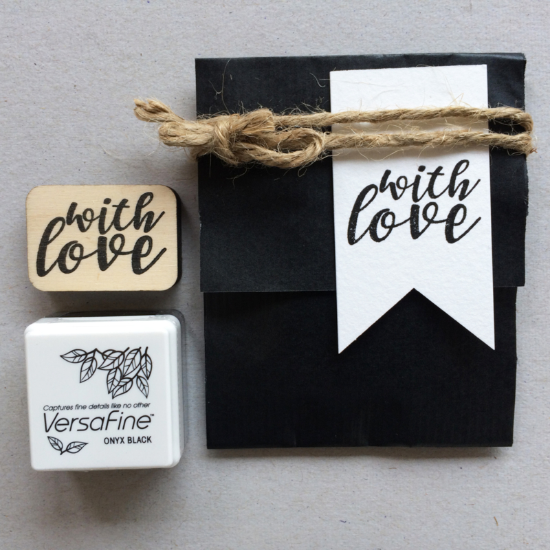 Stempel 'with love'