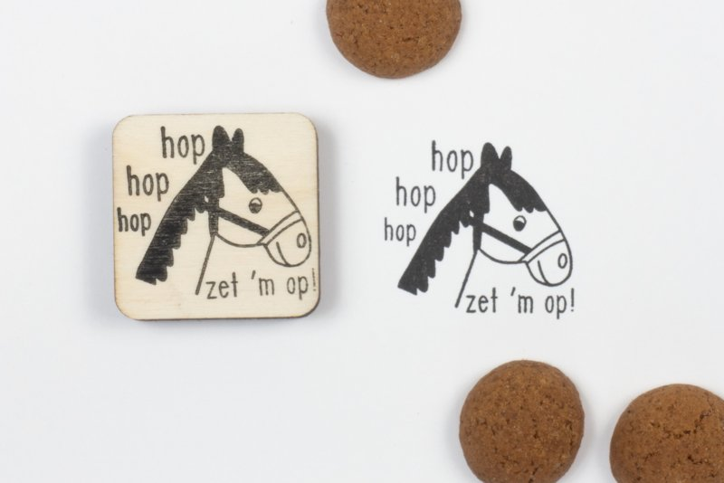 Stempel paard van Sint