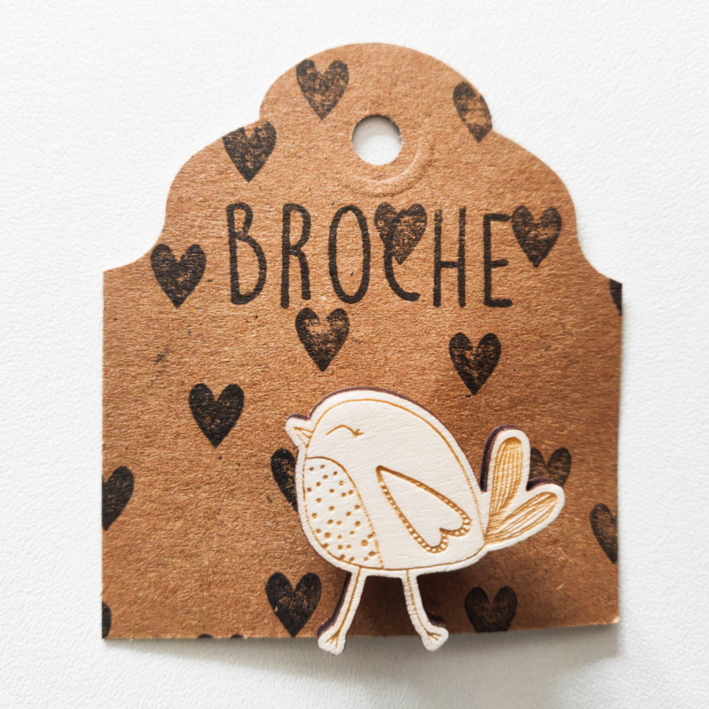 Broche vogel