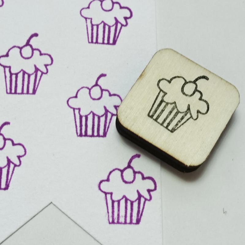 Stempel mini - cupcake