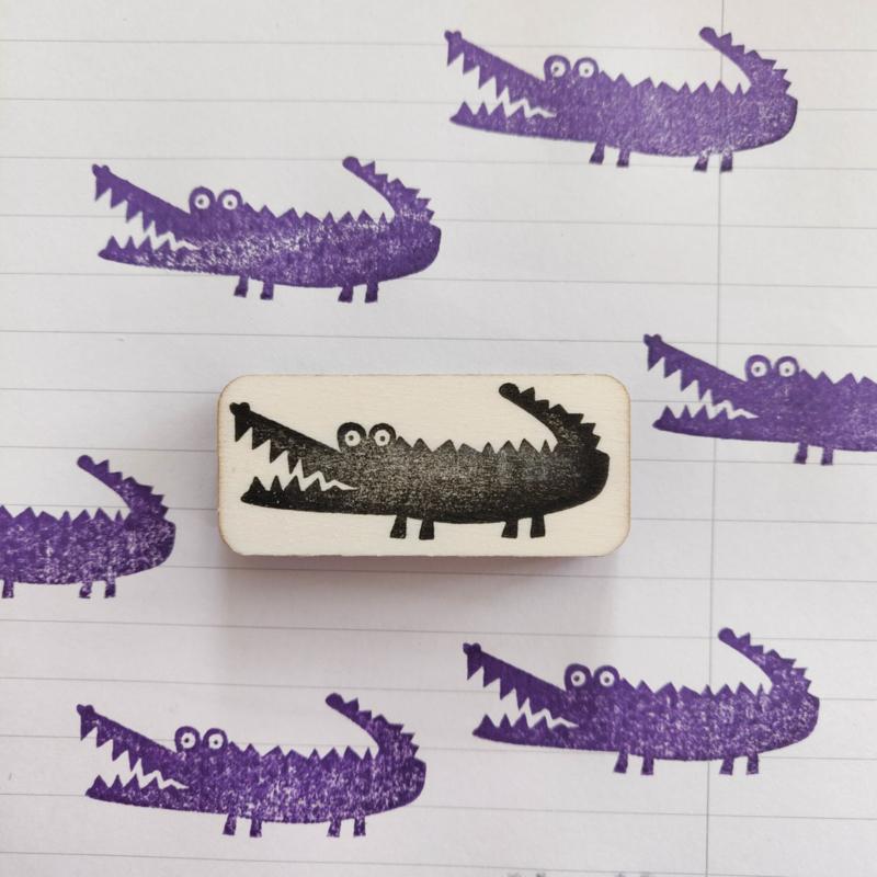 Stempel krokodil