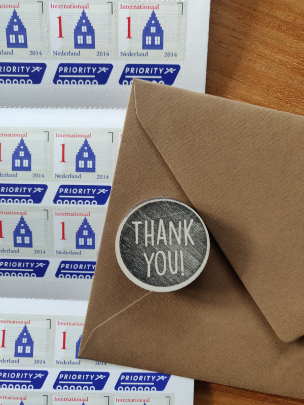 Stempel thank you