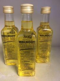 Walnootolie 100ml vierkant flesje