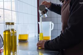 Hazelnootolie van geroosterde hazelnoten 200 ml