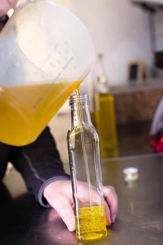 Hazelnootolie van geroosterde hazelnoten 250 ml