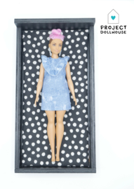 Barbie bed Zwart