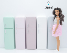 Refrigerator Barbie size