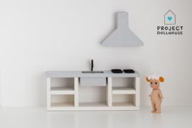 Modern kitchen grey 18 cm
