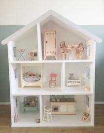 Huis grijze details geschikt voor Maileg