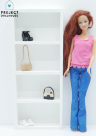 White Dresser Barbie size