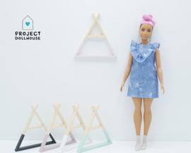 Tipi wandrek Barbie formaat