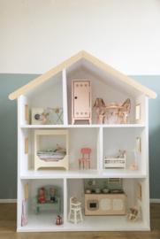 Huis  houten details geschikt voor Maileg