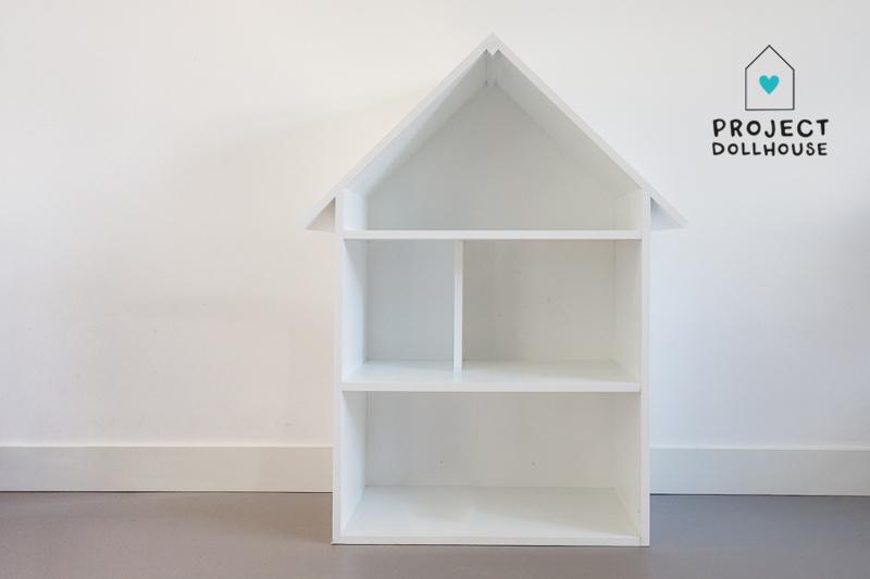 Fonkelnieuw wit poppenhuis het houten poppenhuis groot poppenhuis ET-67