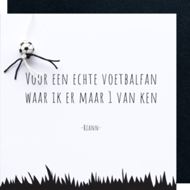 Letters voetbal