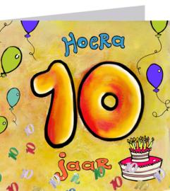 Leeftijd 10 jaar