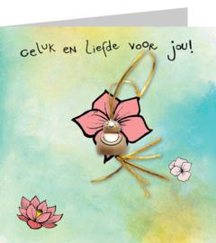 Gelukskaart: Boeddha