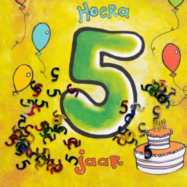Leeftijd 5 jaar