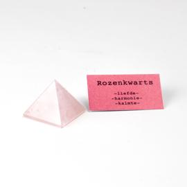 Piramide Rozenkwarts
