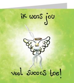 Gelukskaart: Succesengel