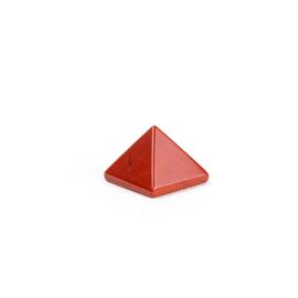 Piramide klein Rode jaspis