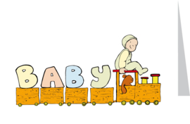 Baby letters-funny