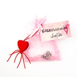 Armband Rozenkwarts-Liefde