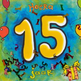 Leeftijd 15 jaar