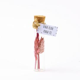 Flor rosa 11cm