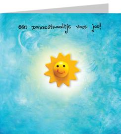 Een zonnestraaltje voor jou!