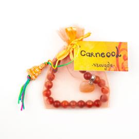 Armband Carneool -Vreugde