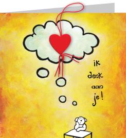 Gelukskaart: Denk aan je