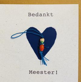 Wenskaart meester