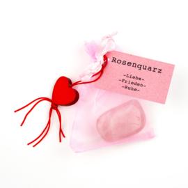 Kuschelstein Rosenquarz
