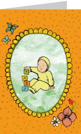 Baby oranje-funny