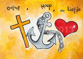 Hoop, geloof en liefde