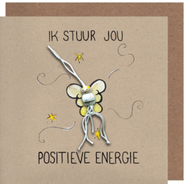 Wenskaart positieve energie kraft