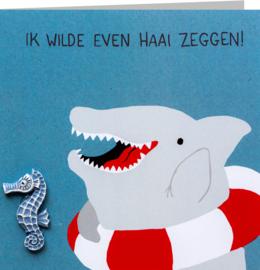Haai zeggen