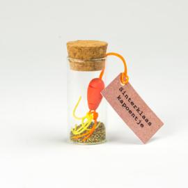 Geluksflesje sinterklaas wortel