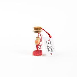 Glücksflasche Viel Liebe