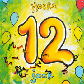 Leeftijd 12 jaar