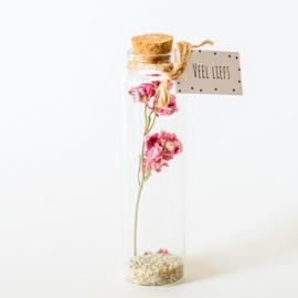 Bloemen flesjes
