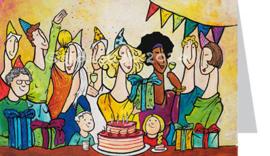 Verjaardag-funny