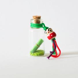 Mini wensflesje groen