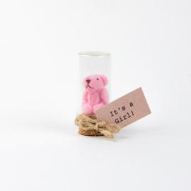 Beertje roze girl