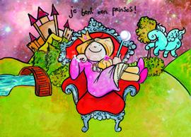 Je bent een prinses!