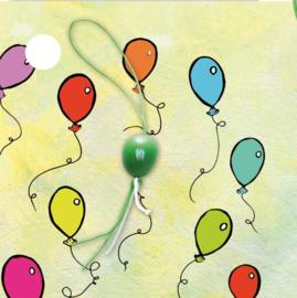 kaartje ballon