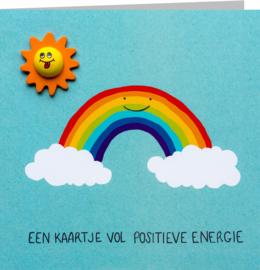 Positieve energie zon