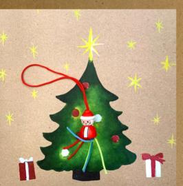 Carte de Noël Sapin de Noël