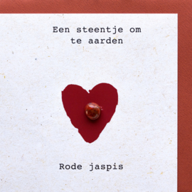 Edelsteen kaart Rode jaspis