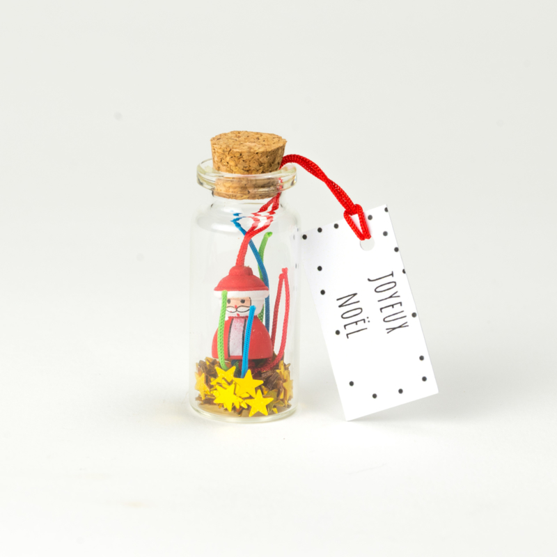 Flacon Joyeux Noël